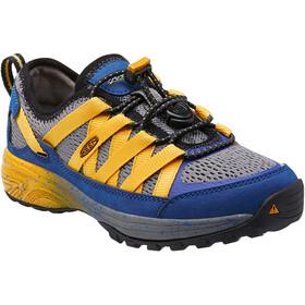 Keen Versatrail Shoes Kinder true blue/keen yellow